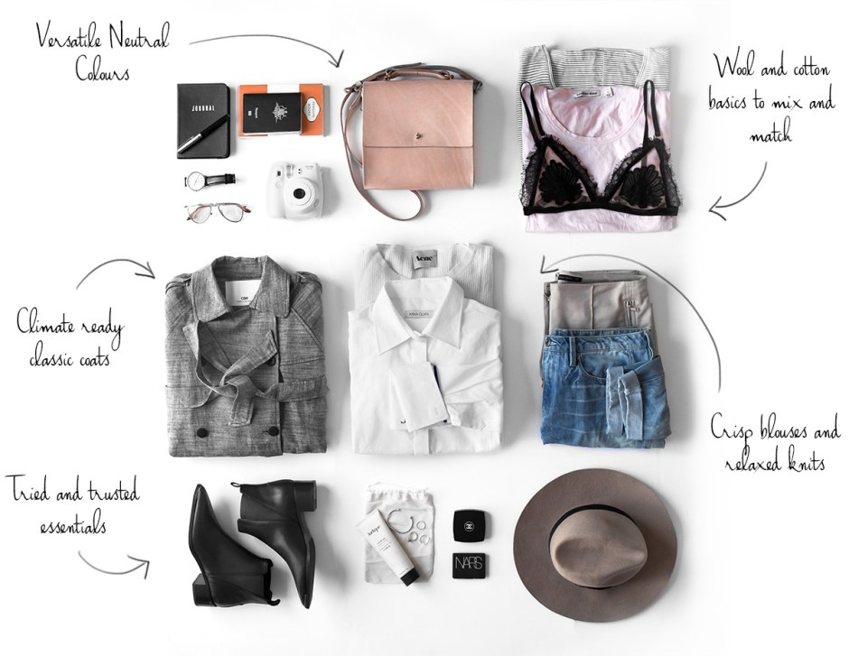 How to pack for comfort and style-cover