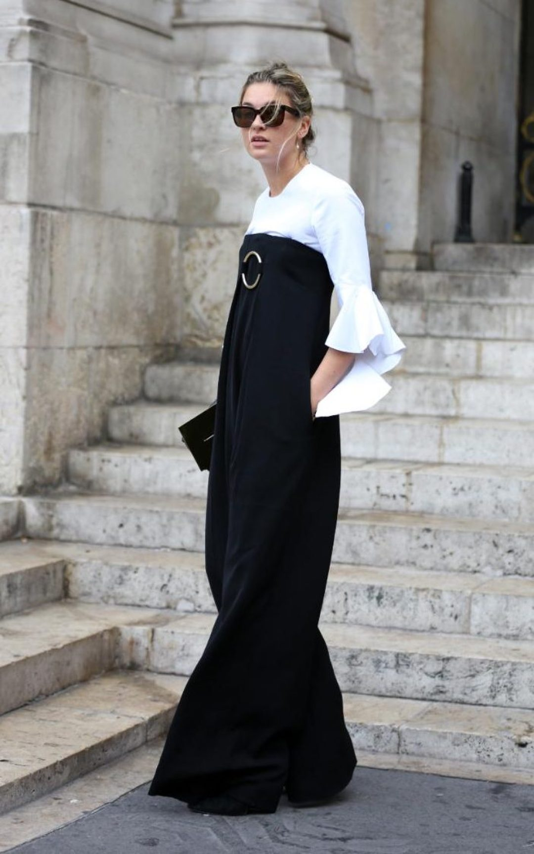 Camille Charriere wear dresses in winter layered - telegraph.co