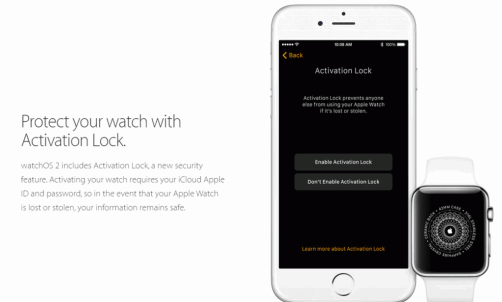 Apple Watch Activation Lock Bypass