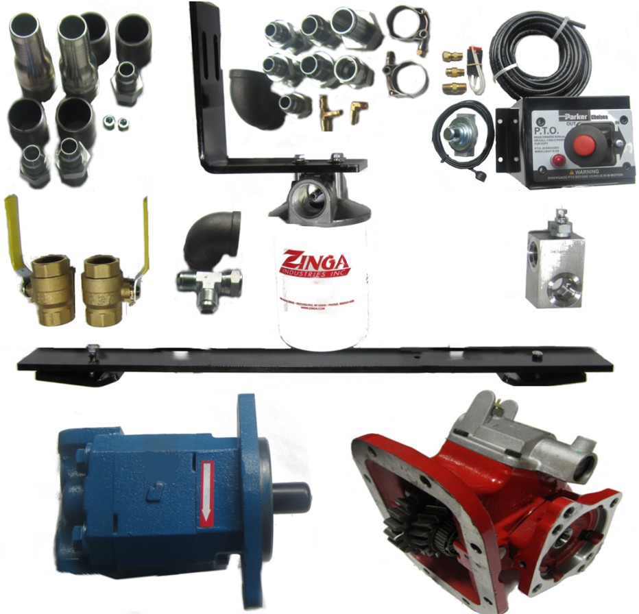 medium resolution of wet kit for lowboy trailer pto included hydraulics pneumatics mix dual line wet kit diagram