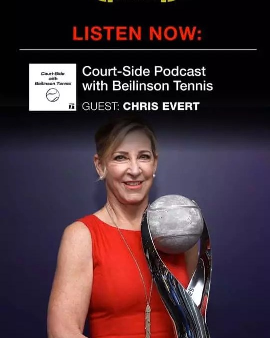 Episode 61 – Podcast with Tennis Legend Chris Evert