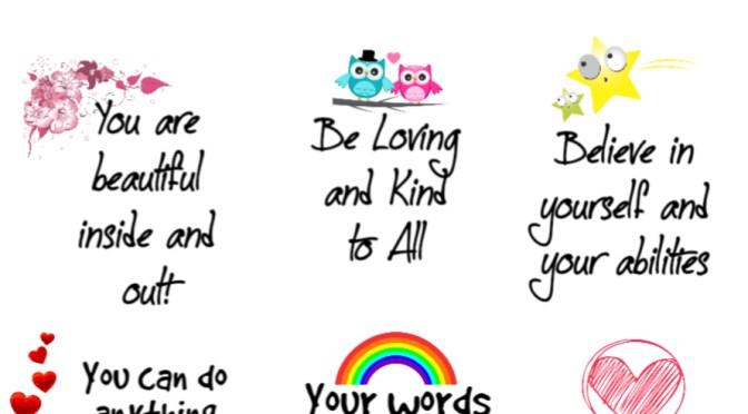 encouragement cards free printables