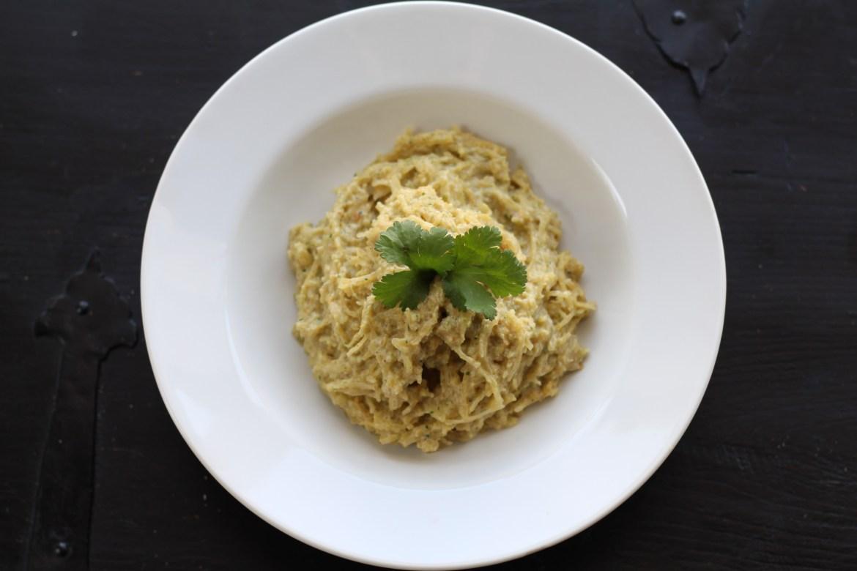 Spaghetti Squash and 'Cheese'