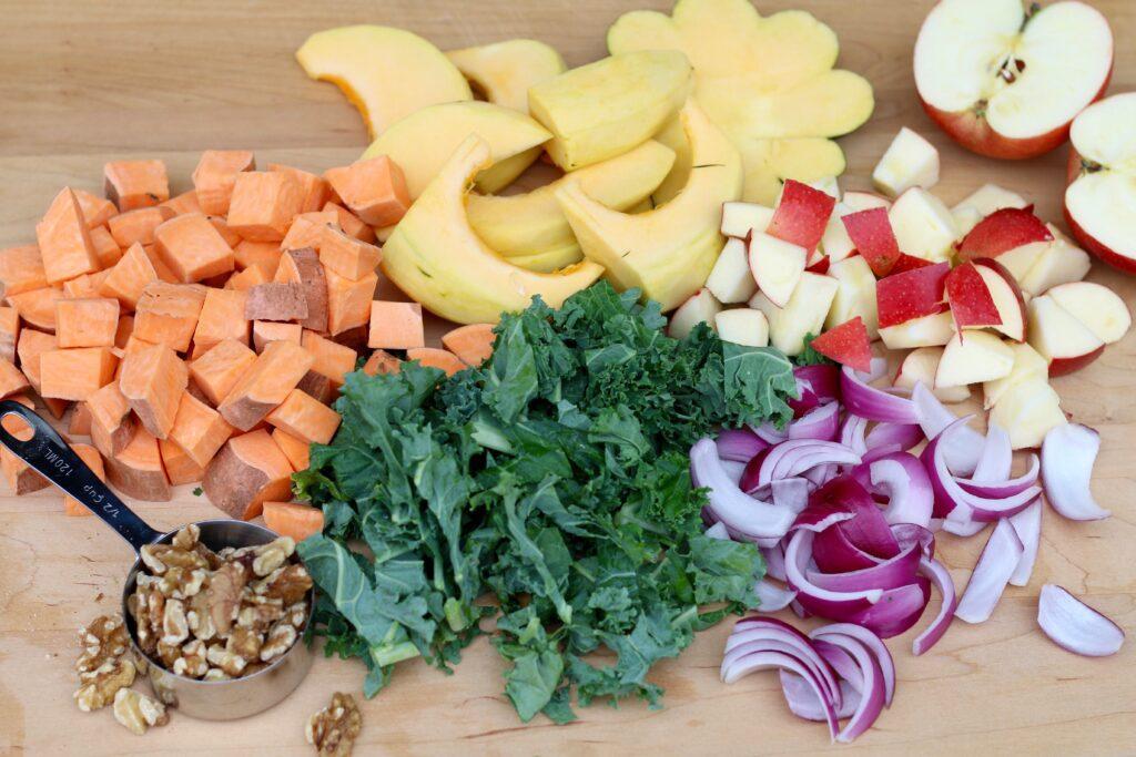 Grandpa's Roasted Vegetable Medley