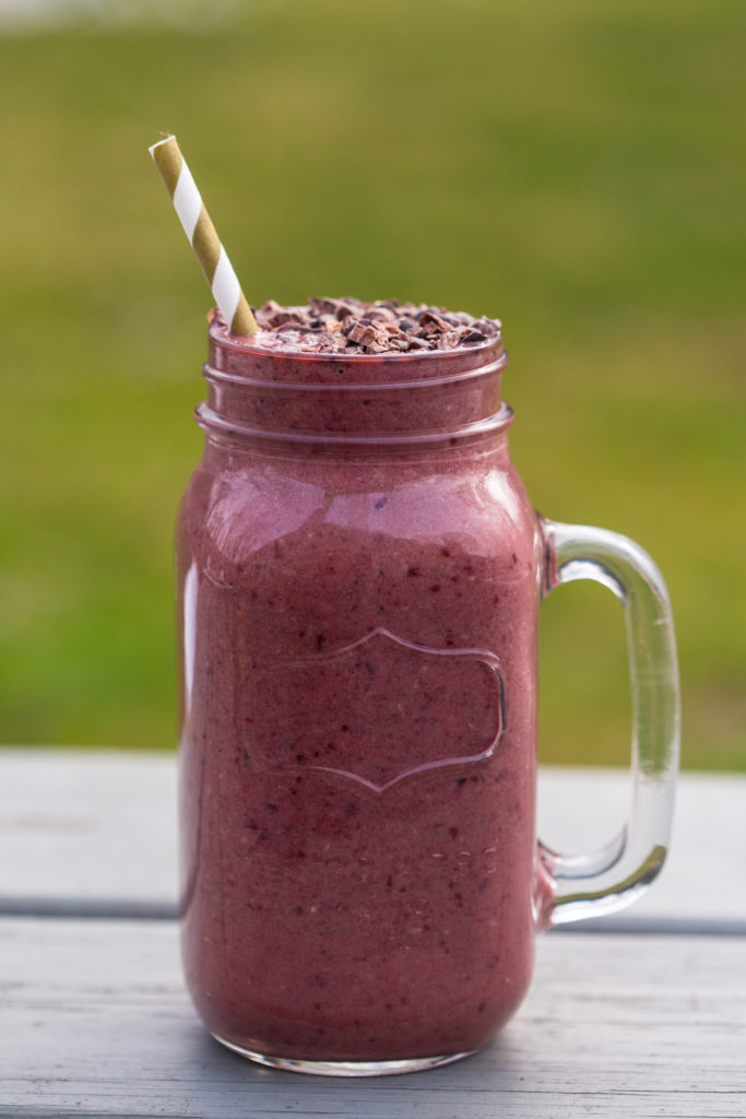 Wild Cherry Smoothie from BeingBrigid
