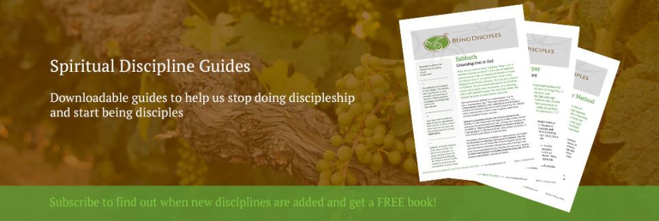 Spiritual Discipline Guides