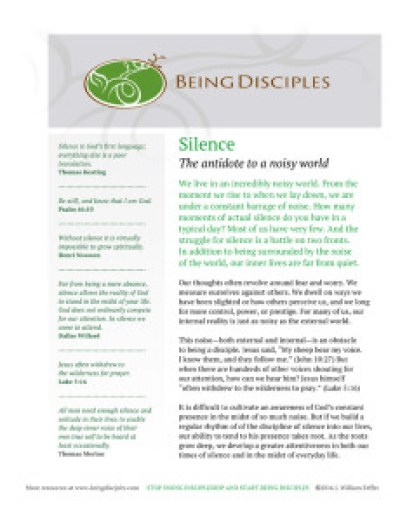 Click the image to download the Silence Guide