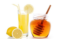wrinkle treatment with honey lemon juice