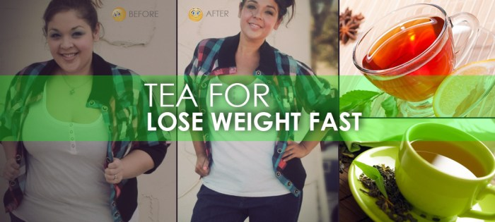 tea for weight loss