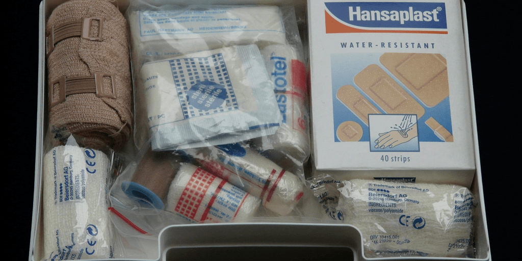 first aid kit to pack in your bag