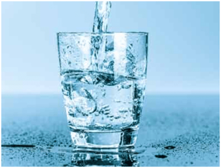 Drink water for urine infection