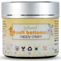 Omved Soft Bottoms Baby Nappy/Diaper Natural Rash Cream