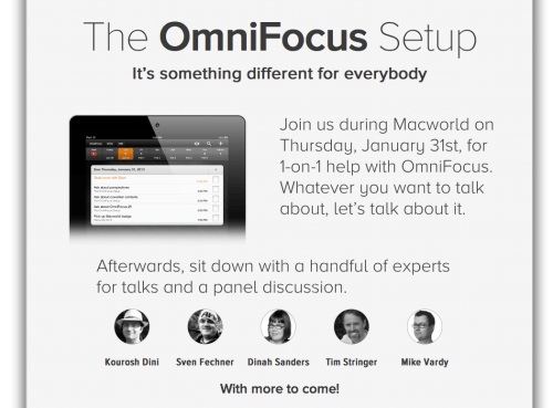 The Omni Group OmniFocus Lineup