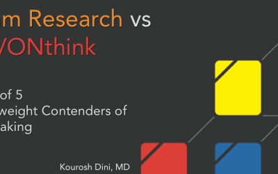 Roam Research vs DEVONthink – Part 1 of 5 – Heavyweight Contenders of Note-taking
