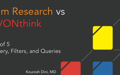 Roam Research vs DEVONthink – Part 5 of 5 – Discovery, Filters, and Queries
