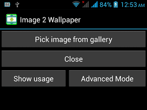 How To Set Fullscreen Wallpaper in Android