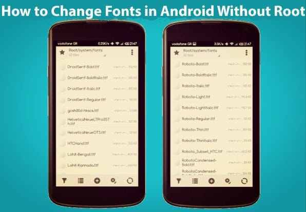 How to Change Fonts on Android Without Root