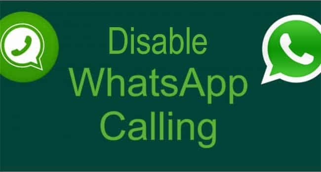 How To Block or disable Whatsapp calls