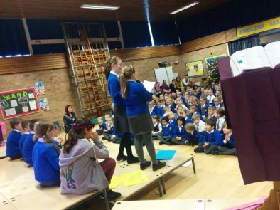 Whole school collective worship