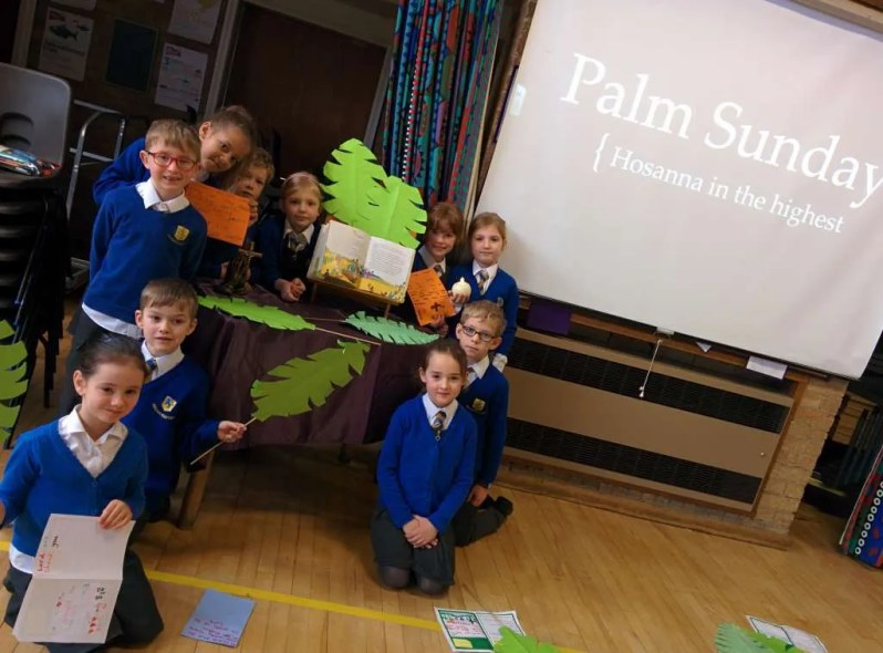 Celebrating Psalm Sunday