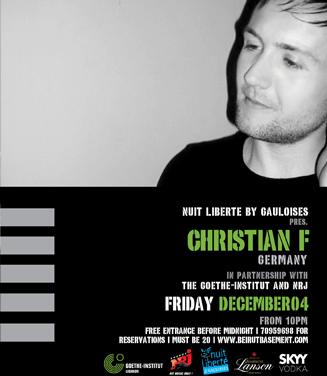 Christian F @ the Basement