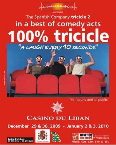 100% Tricicle @ Casino du Liban