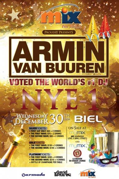 Armin Van Buuren NYE -1