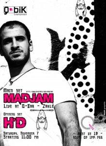 maDJam live @ Q bar