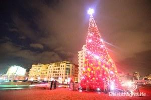 Beirut Downtown Christmas Tree