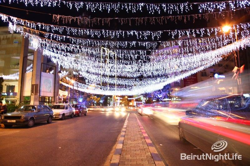 Christmas Decoration Around Lebanon