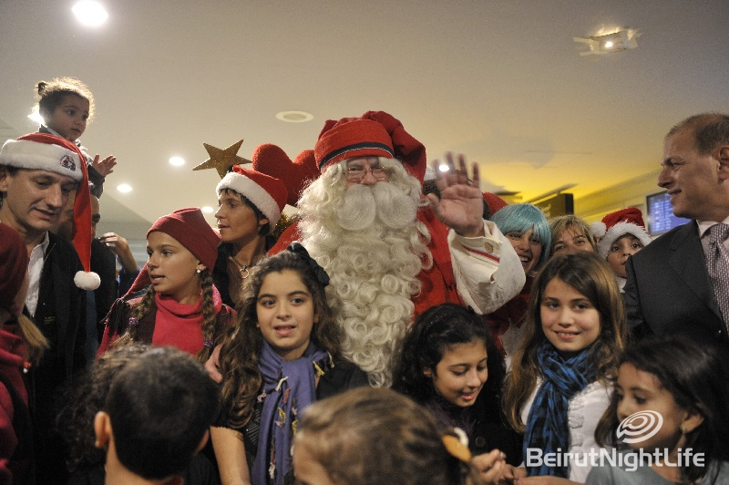 Santa Clause Arrives to Beirut