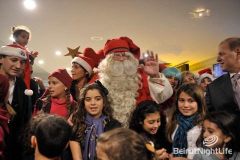 Santa Clause Beirut Airport
