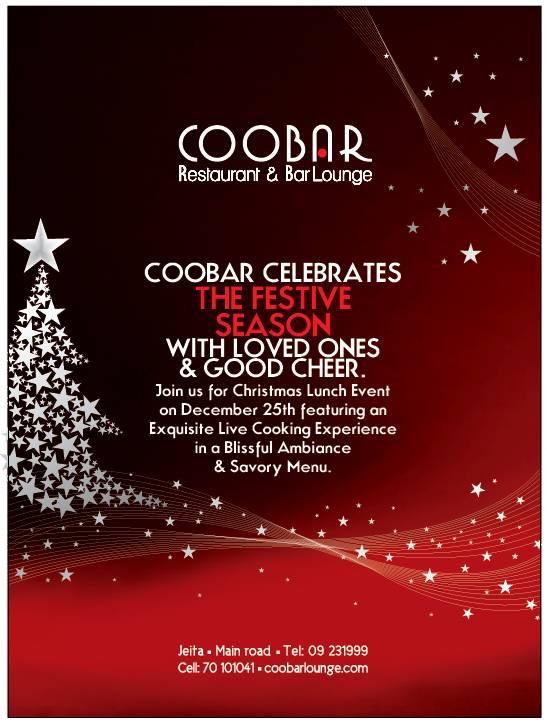 Coobar Christmas Lunch