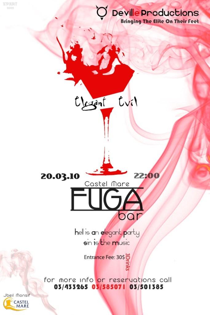 Elegant Evil at Fuga Bar