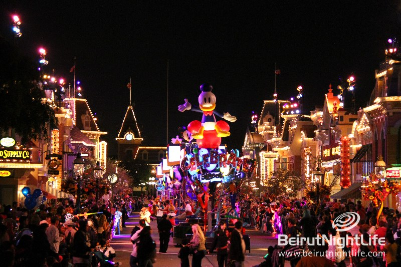 Around the World: Disneyland- USA