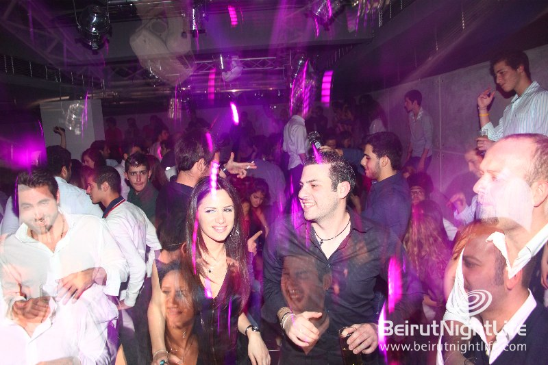 Saturday night at Brut Beirut