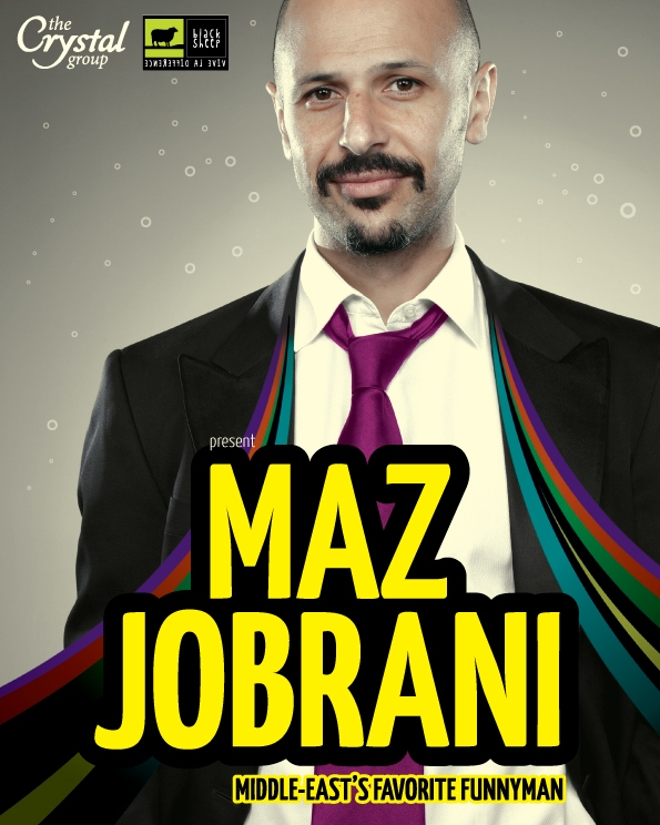 The Comedy Cellar featuring Maz Jobrani at Metis!
