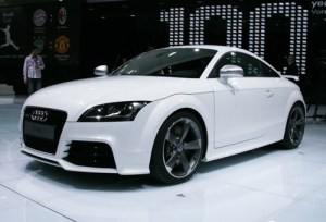 Audi  TT RS: Inspiration by a legendary Eighties road-going rally car