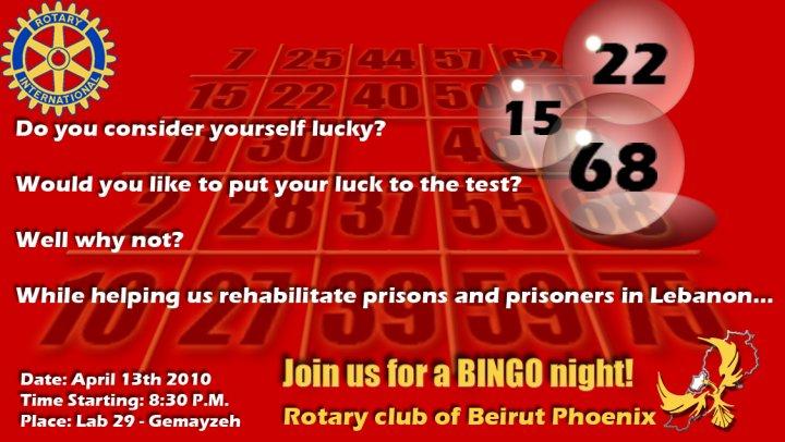 Bingo Night at Lab 29