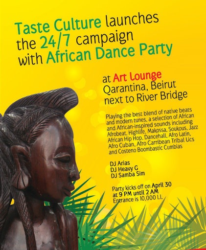 Taste Culture launches 24/7 Campaign with African Dance Party!