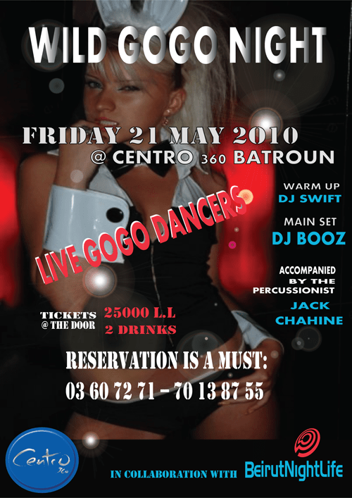 Wild GOGO Night at Centro Batroun