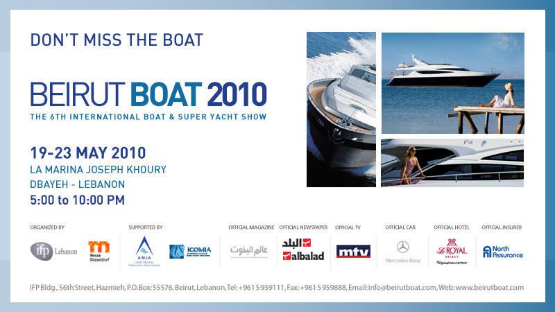 BeirutNightLife.com at Beirut Boat Show 2010