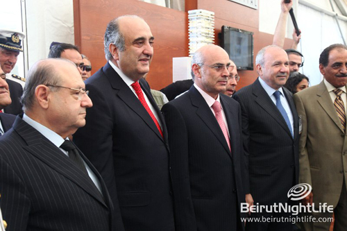 Lebanese Minister of Tourism inaugurates the Beirut Boat Show 2010