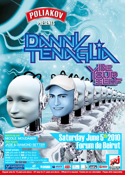 Danny Tenaglia in Beirut!…….Ready, Steady,… Goooo!!!