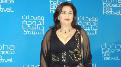 "Elham Shahin… Best Arab Actress in ""Murex D'OR"""