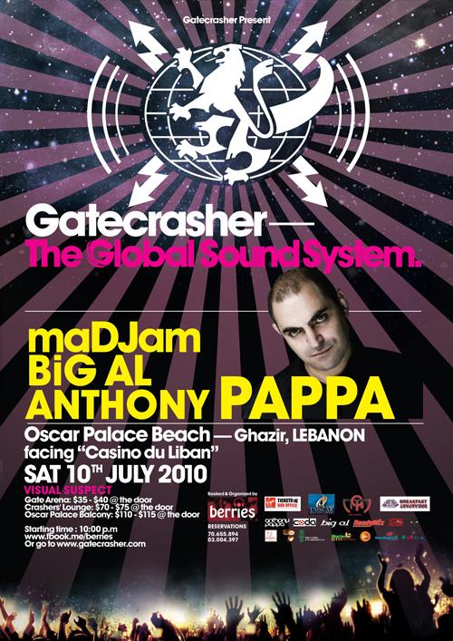 Gatecrasher- Anthony Pappa