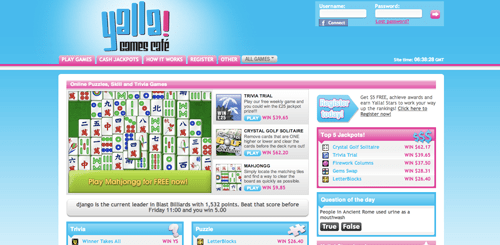 YALLA! Games Cafe Website Launches