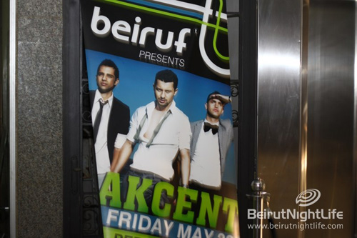 Akcent at Beiruf Beirut