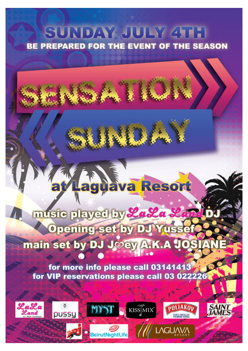 Sensation Sunday at La Guava Resort