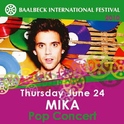 Baalbeck International Festival- Mika